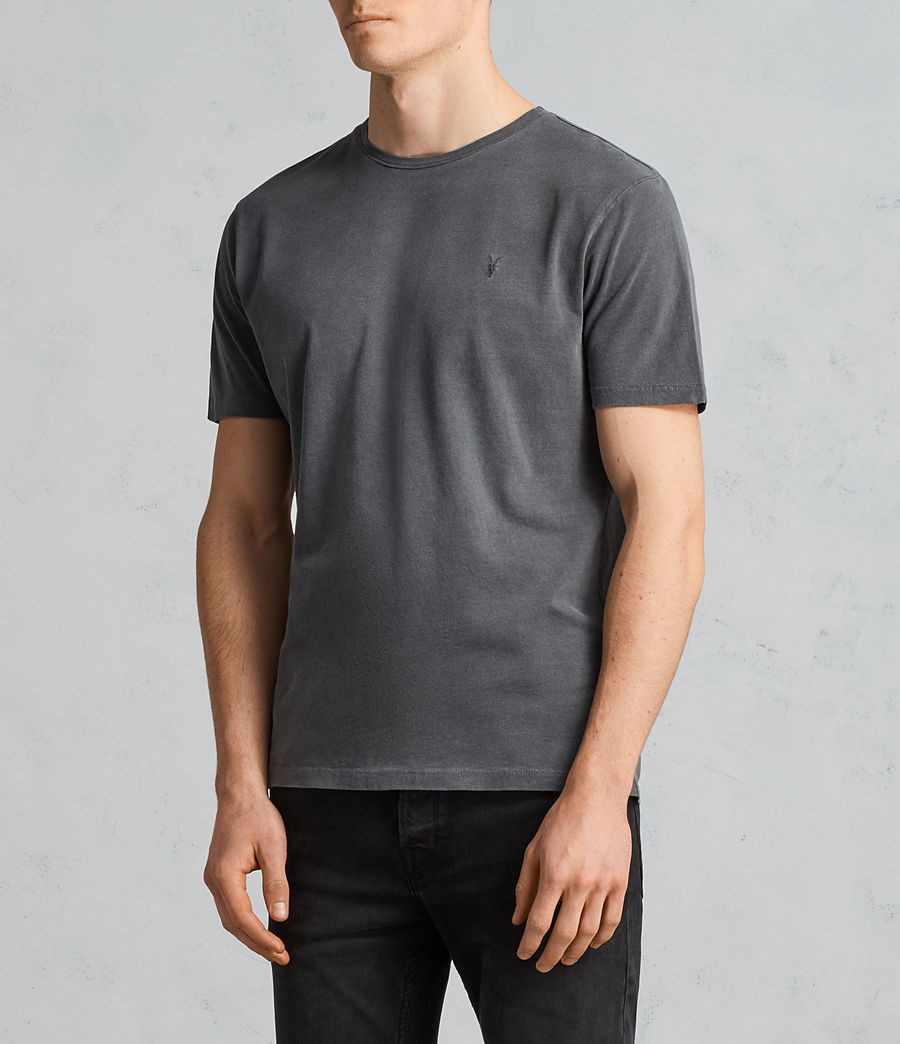 Herren Ossage T-Shirt (HEATH GREY) - Image 3