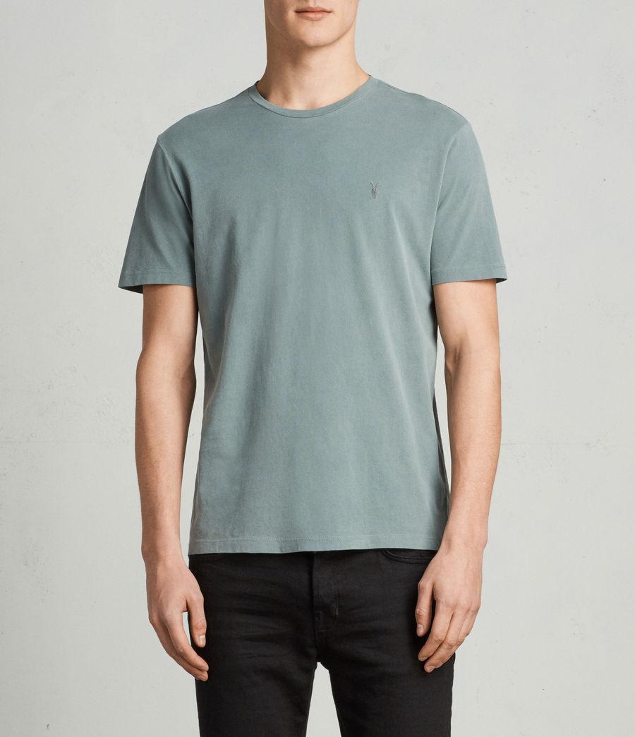 Men's Ossage Crew T-Shirt (larch_green) - Image 1