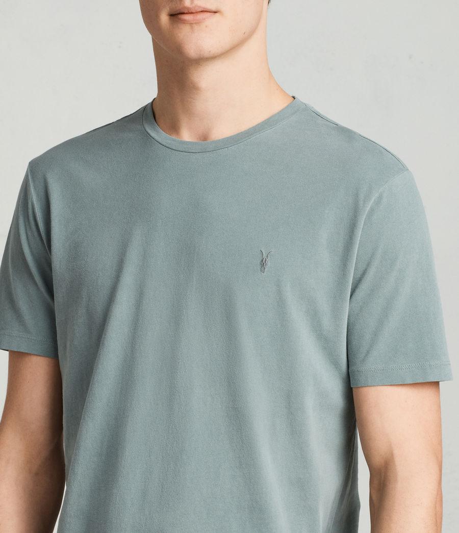 Men's Ossage Crew T-Shirt (larch_green) - Image 2