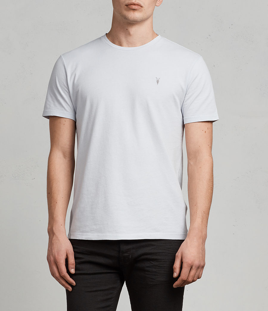 Men's Ossage Crew T-Shirt (celest_blue) - Image 1
