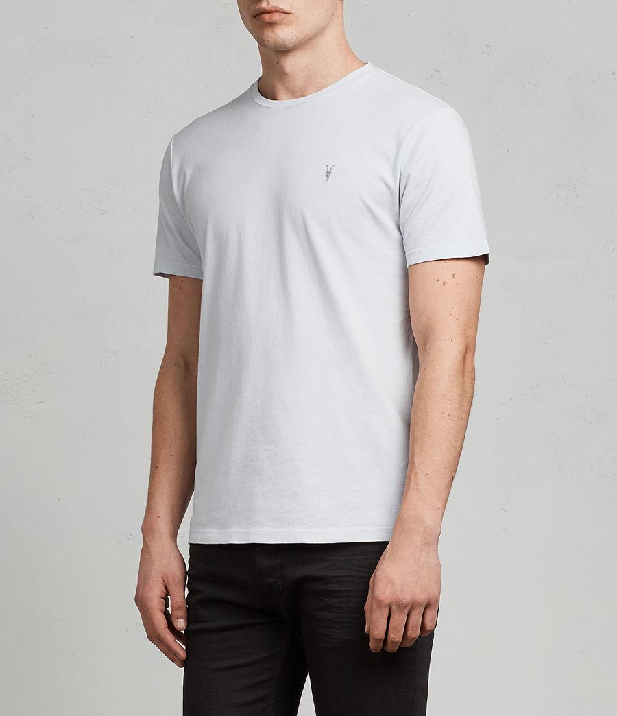 Men's Ossage Crew T-Shirt (celest_blue) - Image 3