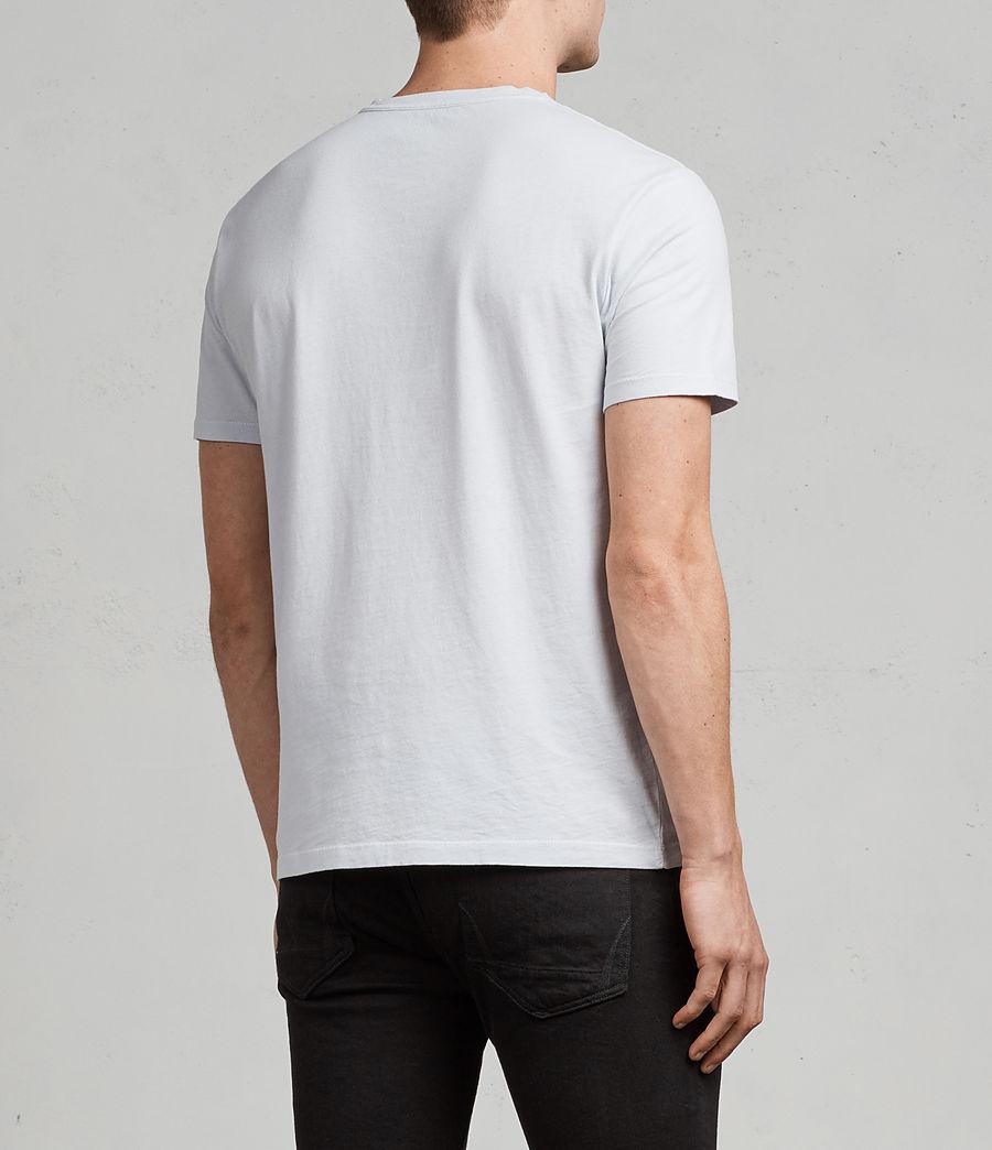 Men's Ossage Crew T-Shirt (celest_blue) - Image 4