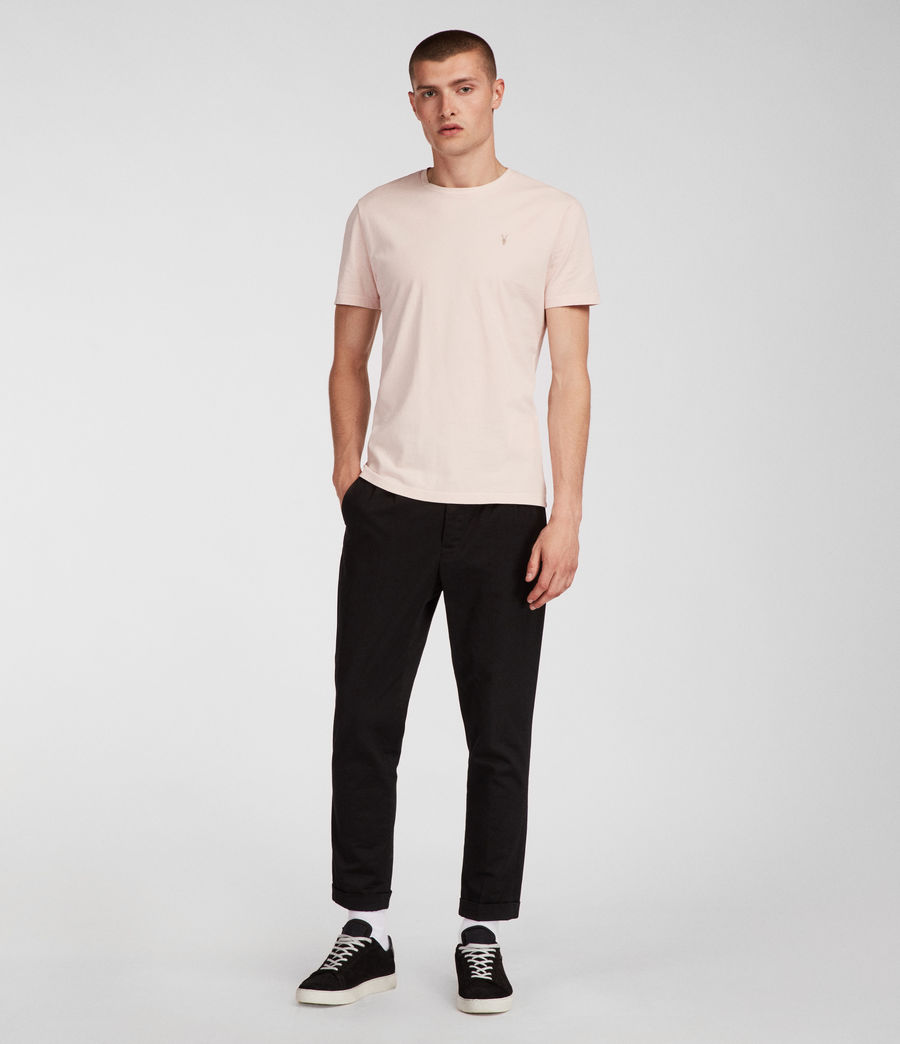 Men's Ossage Crew T-Shirt (river_pink) - Image 1