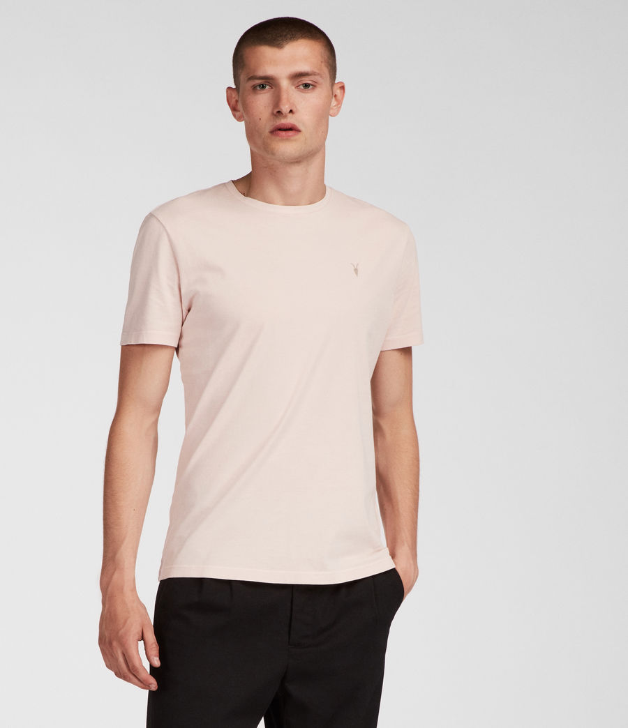 Men's Ossage Crew T-Shirt (river_pink) - Image 2