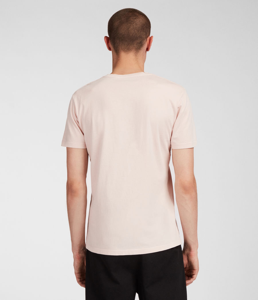 Men's Ossage Crew T-Shirt (river_pink) - Image 3