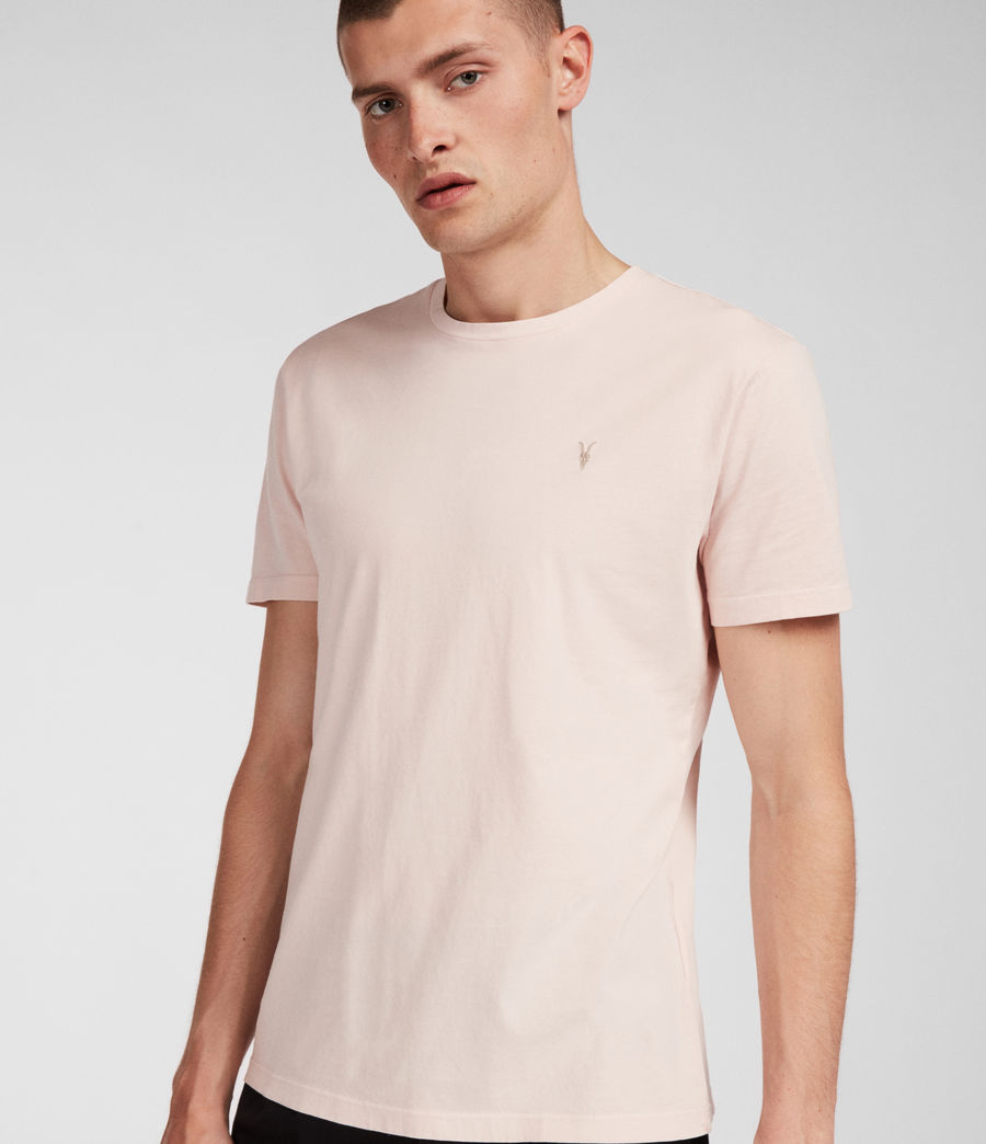 Men's Ossage Crew T-Shirt (river_pink) - Image 4