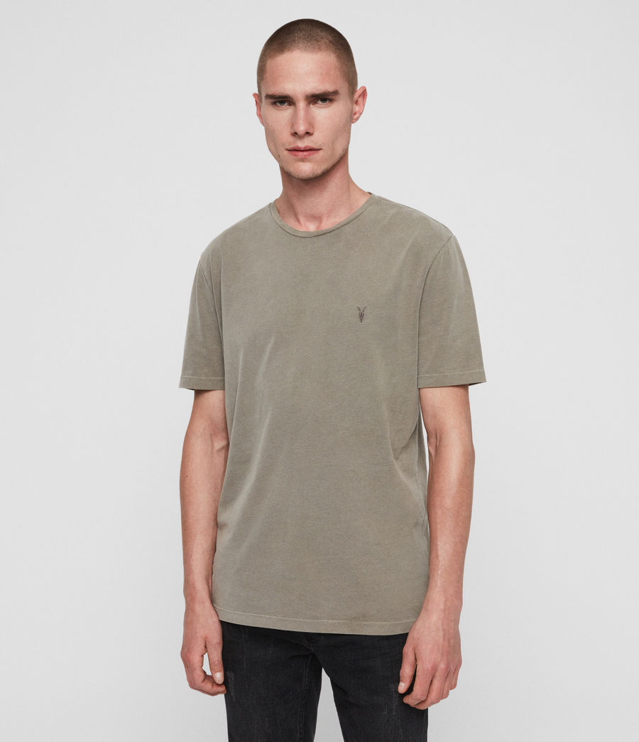 Men's Ossage Crew T-Shirt (sutro_grey) - Image 1