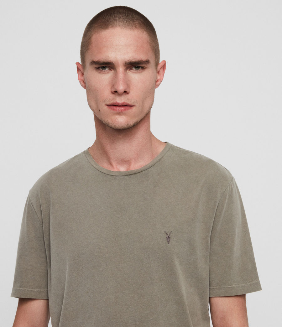 Men's Ossage Crew T-Shirt (sutro_grey) - Image 2
