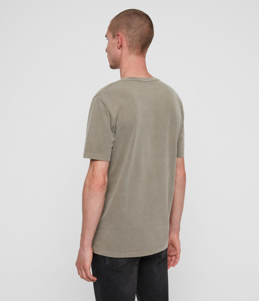 Men's Ossage Crew T-Shirt (sutro_grey) - Image 4