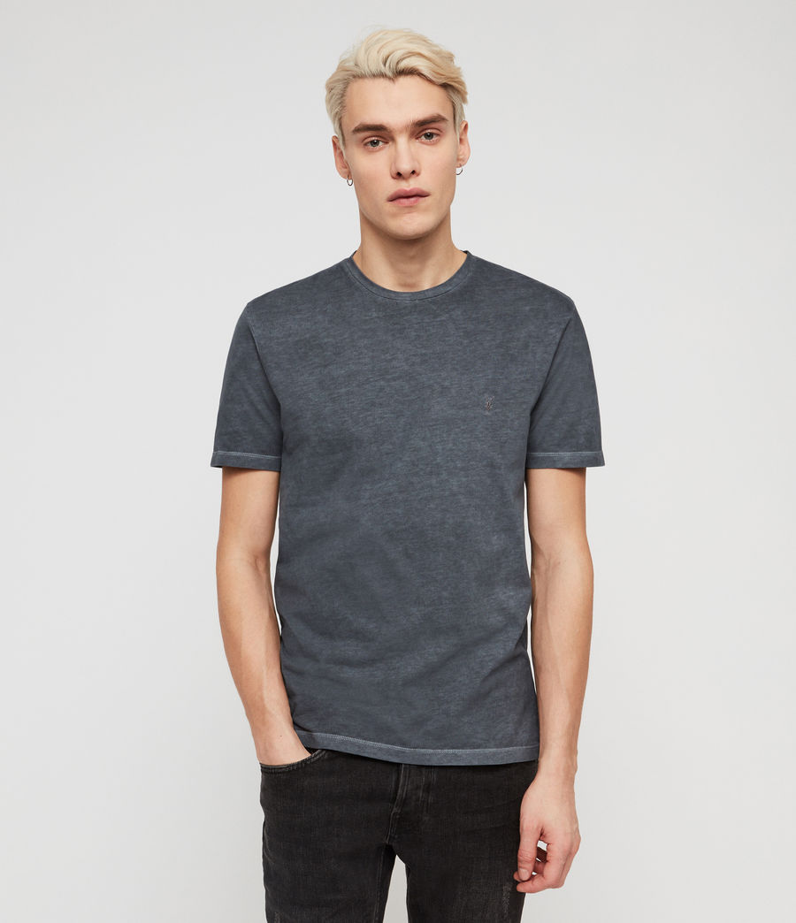 Men's Ossage Crew T-Shirt (granite_blue) - Image 1