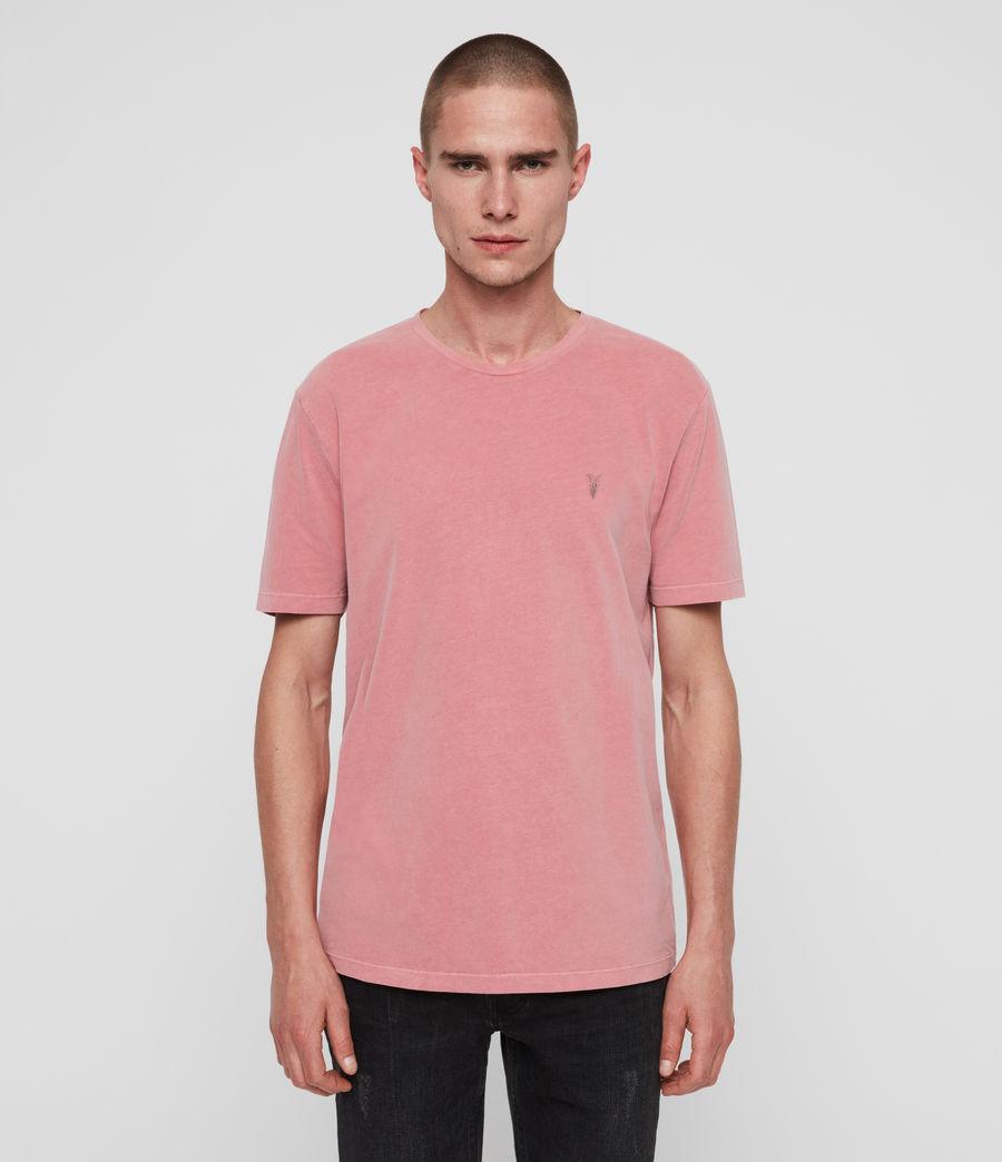 Herren Ossage Crew T-Shirt (havana_pink) - Image 1