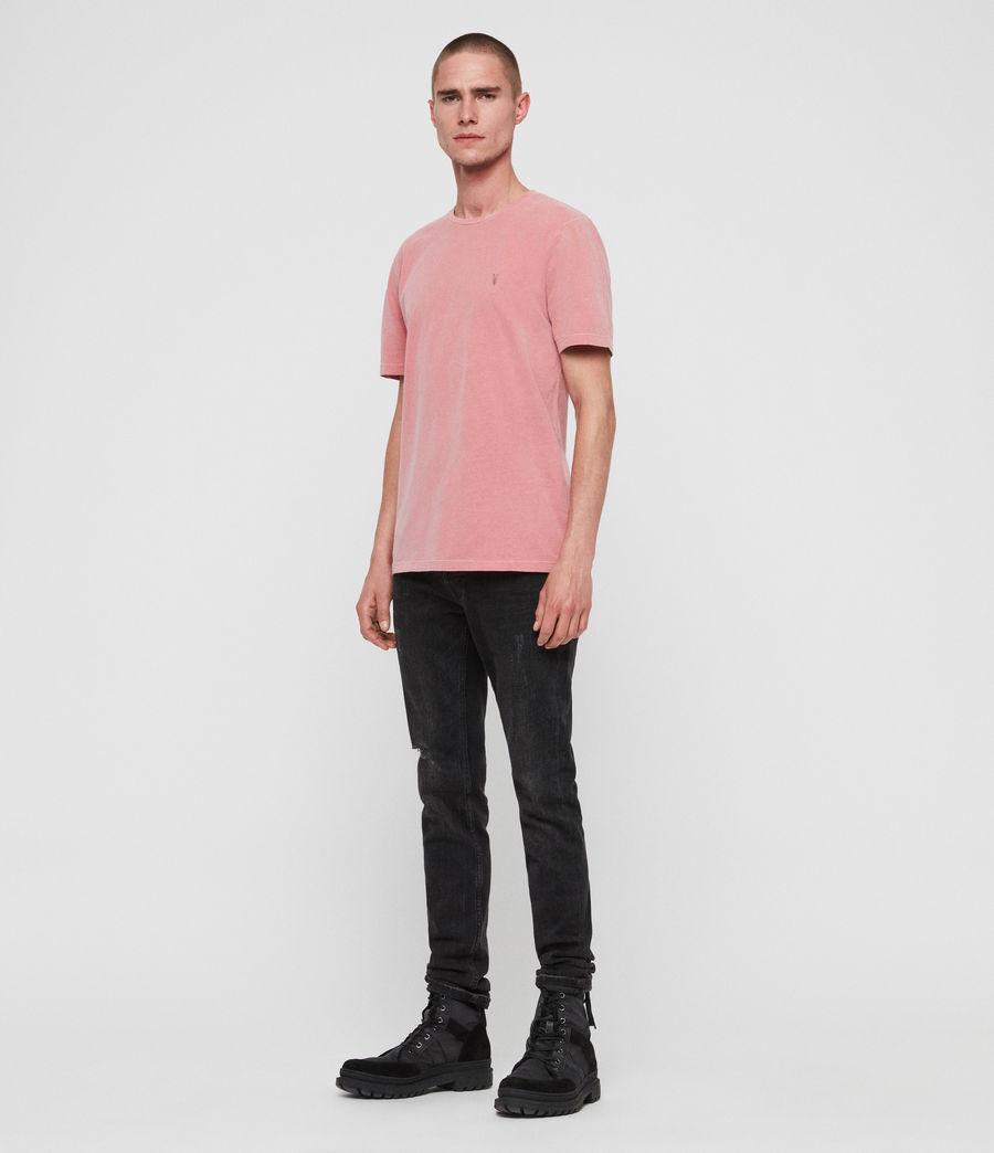 Herren Ossage Crew T-Shirt (havana_pink) - Image 3