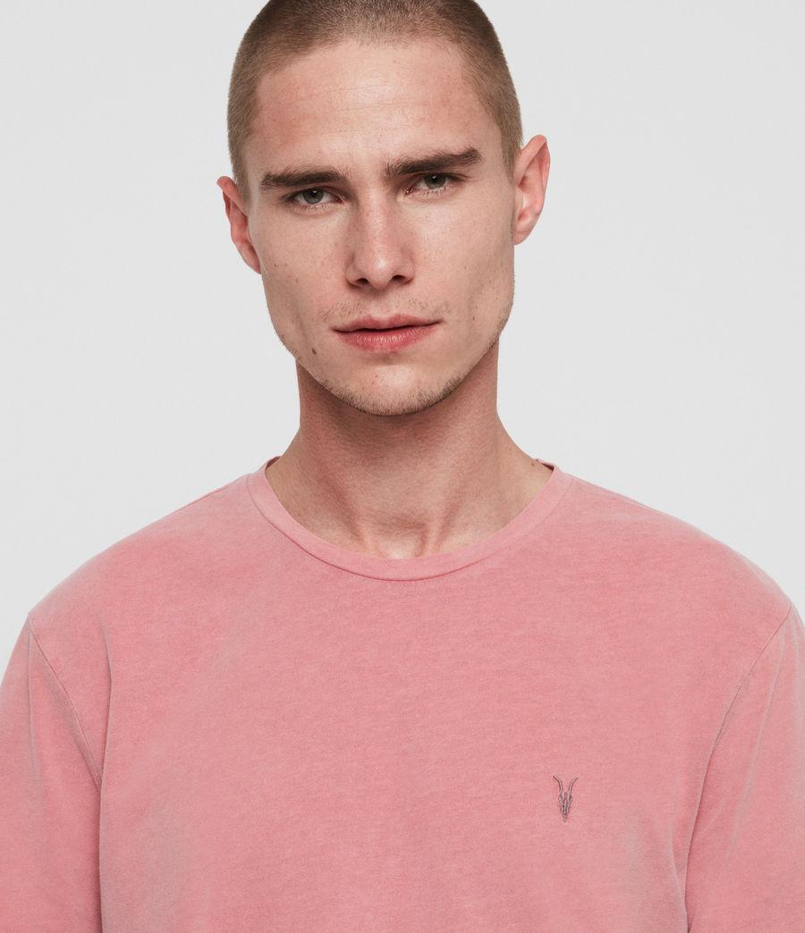Herren Ossage Crew T-Shirt (havana_pink) - Image 4