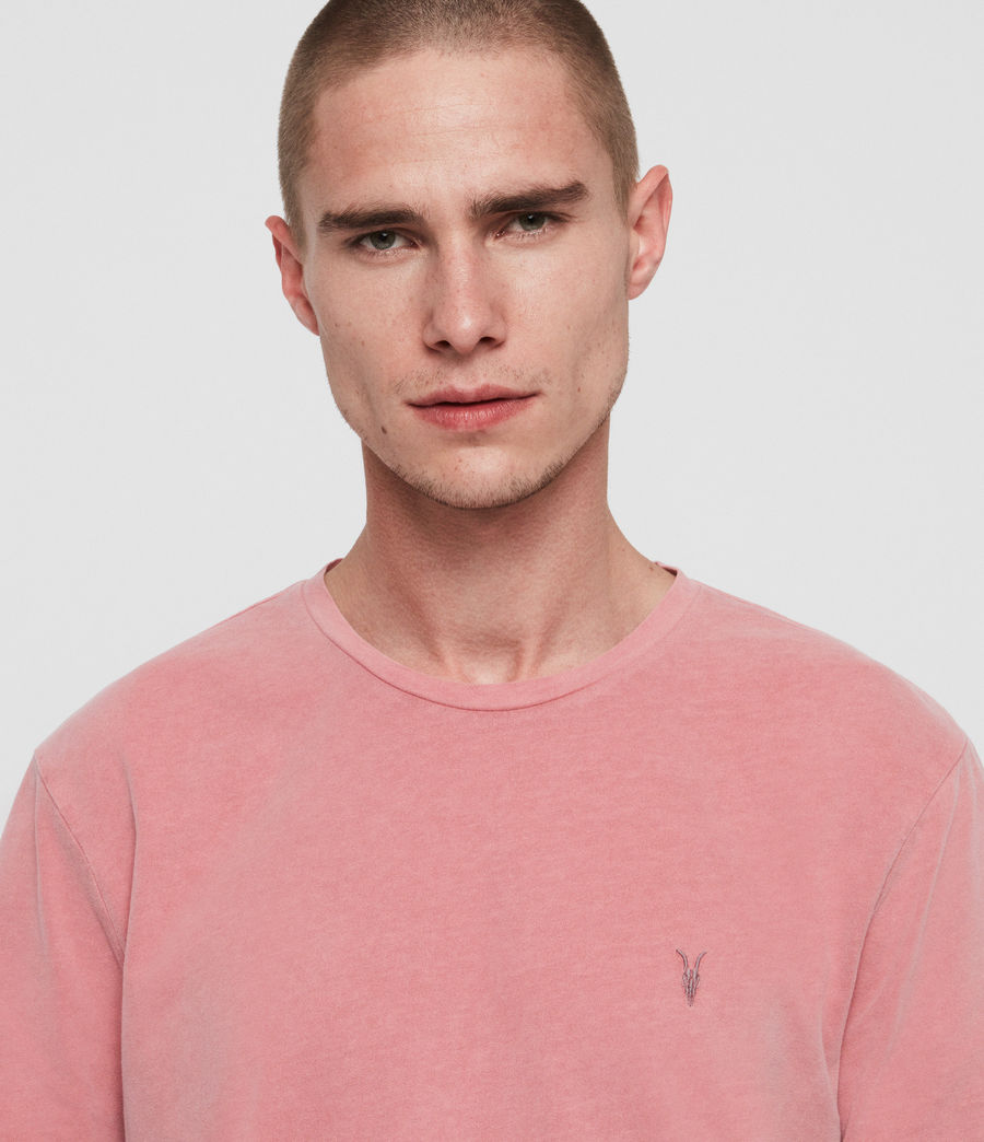 Hombres Camiseta Ossage (havana_pink) - Image 4