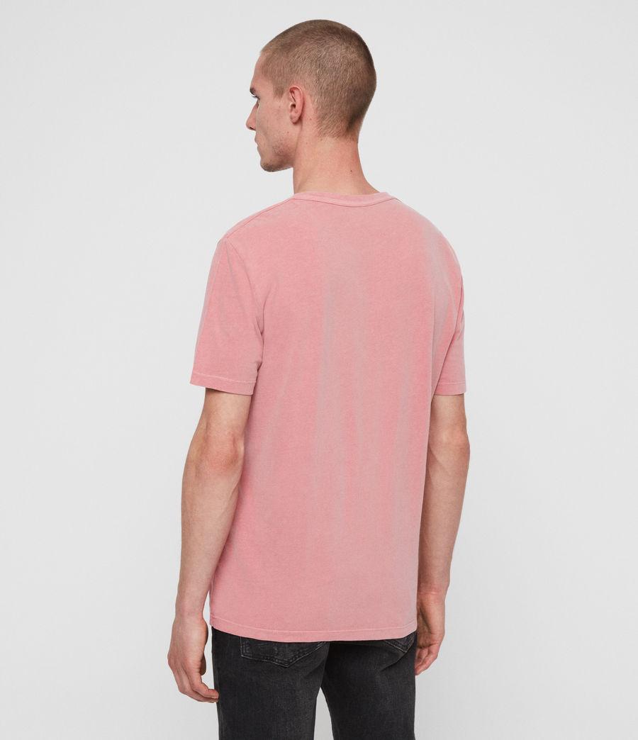 Herren Ossage Crew T-Shirt (havana_pink) - Image 5