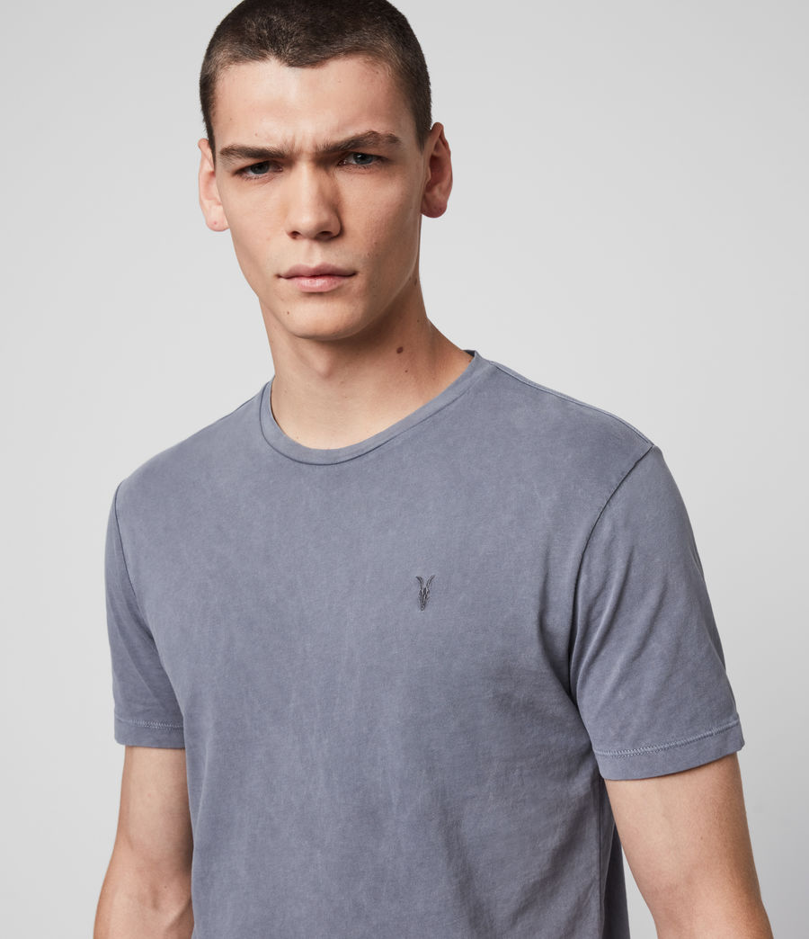 Men's Ossage Crew T-Shirt (ridge_blue) - Image 2