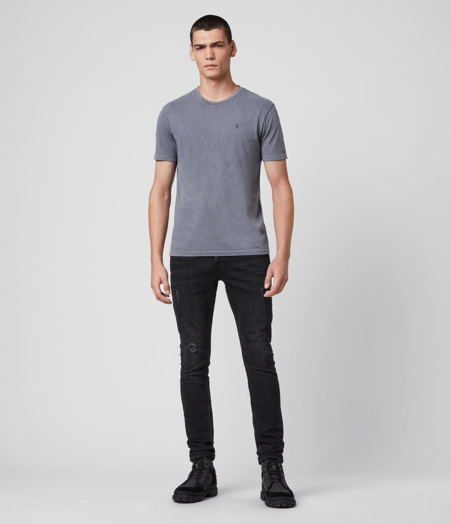 Men's Ossage Crew T-Shirt (ridge_blue) - Image 3