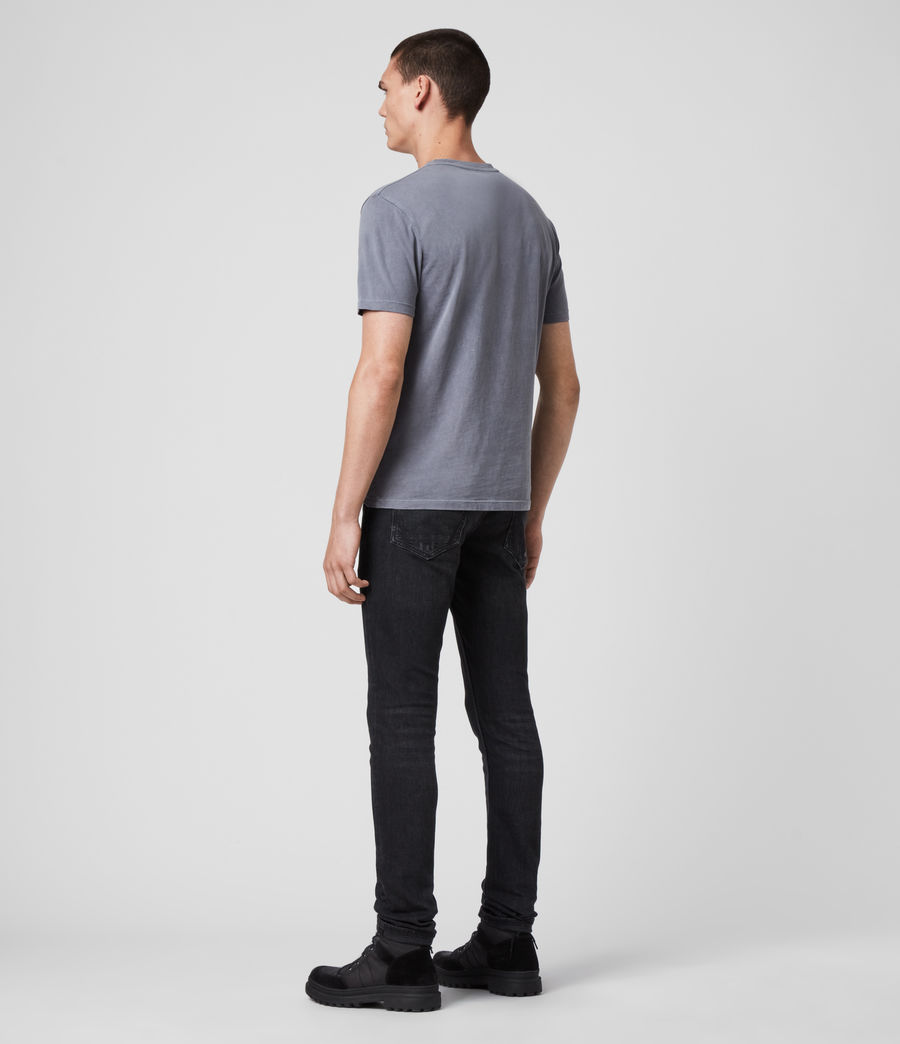 Men's Ossage Crew T-Shirt (ridge_blue) - Image 4