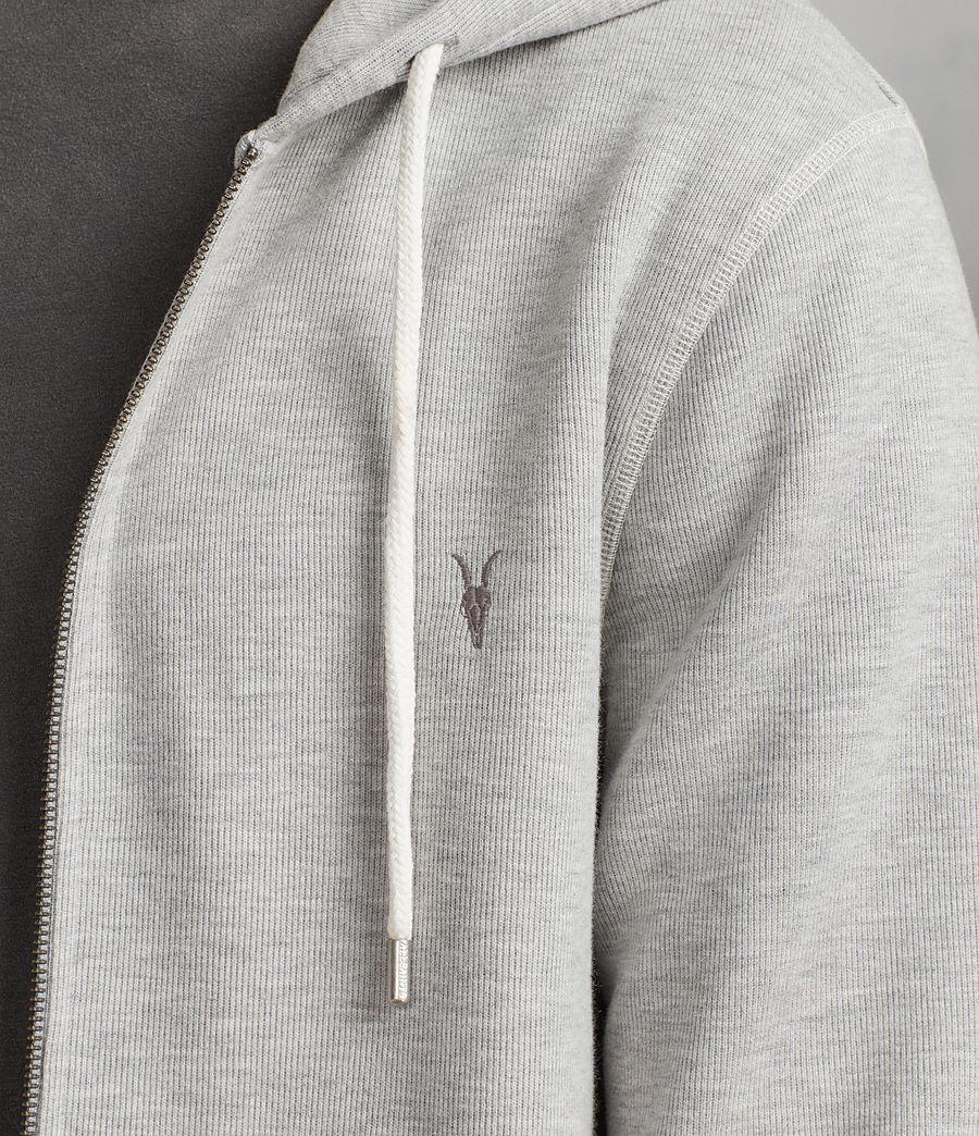 Men's Kruse Zip Hoody (grey_marl) - Image 2