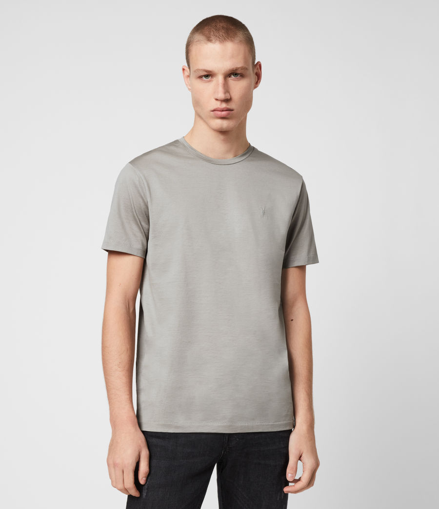 Herren Tyrell Crew T-Shirt (putty) - Image 1