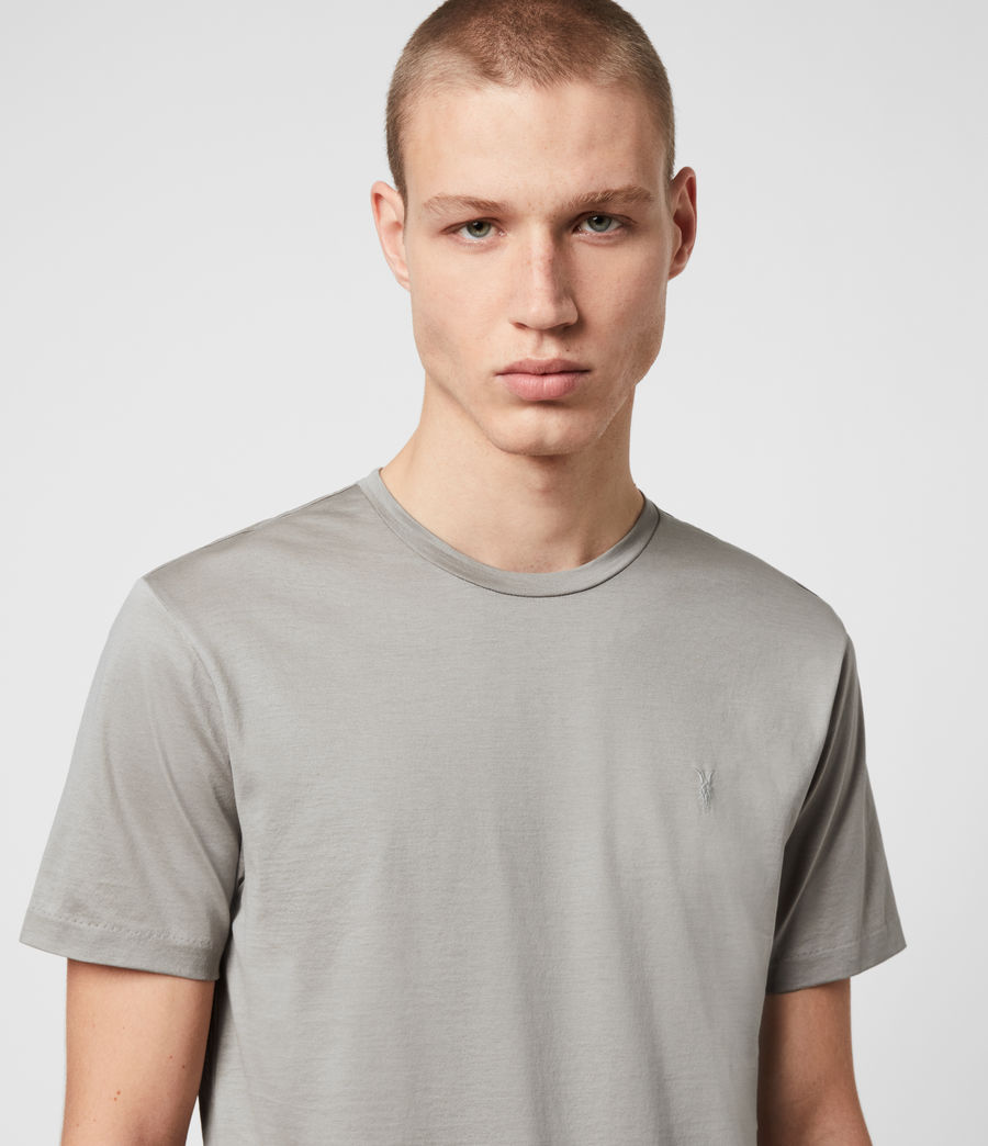 Herren Tyrell Crew T-Shirt (putty) - Image 2