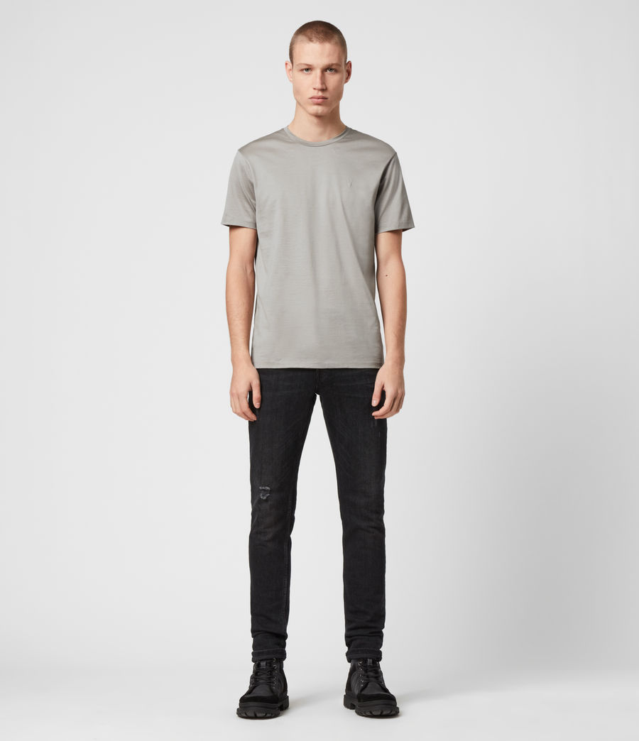 Herren Tyrell Crew T-Shirt (putty) - Image 3