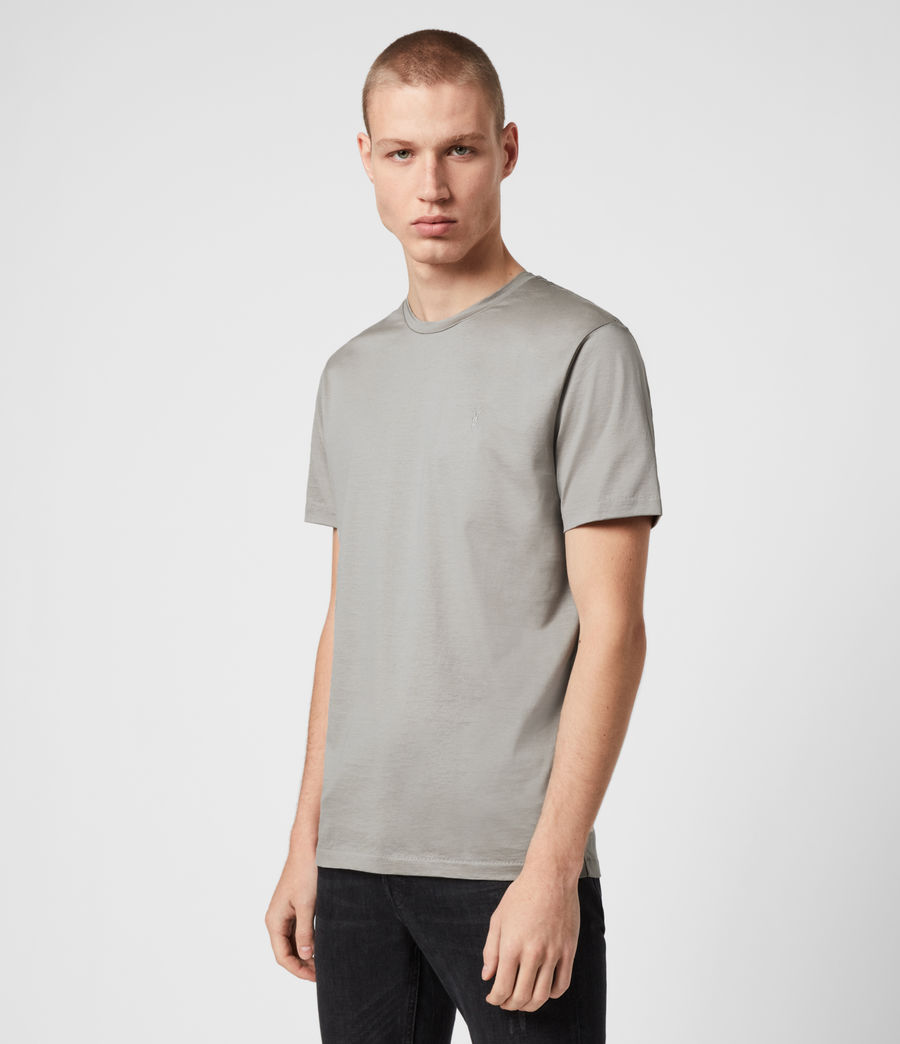 Herren Tyrell Crew T-Shirt (putty) - Image 4