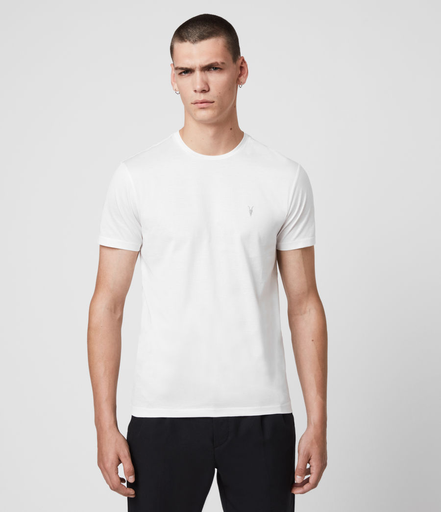 Hommes T-Shirt à Manches Courtes Tyrell (chalk_white) - Image 1