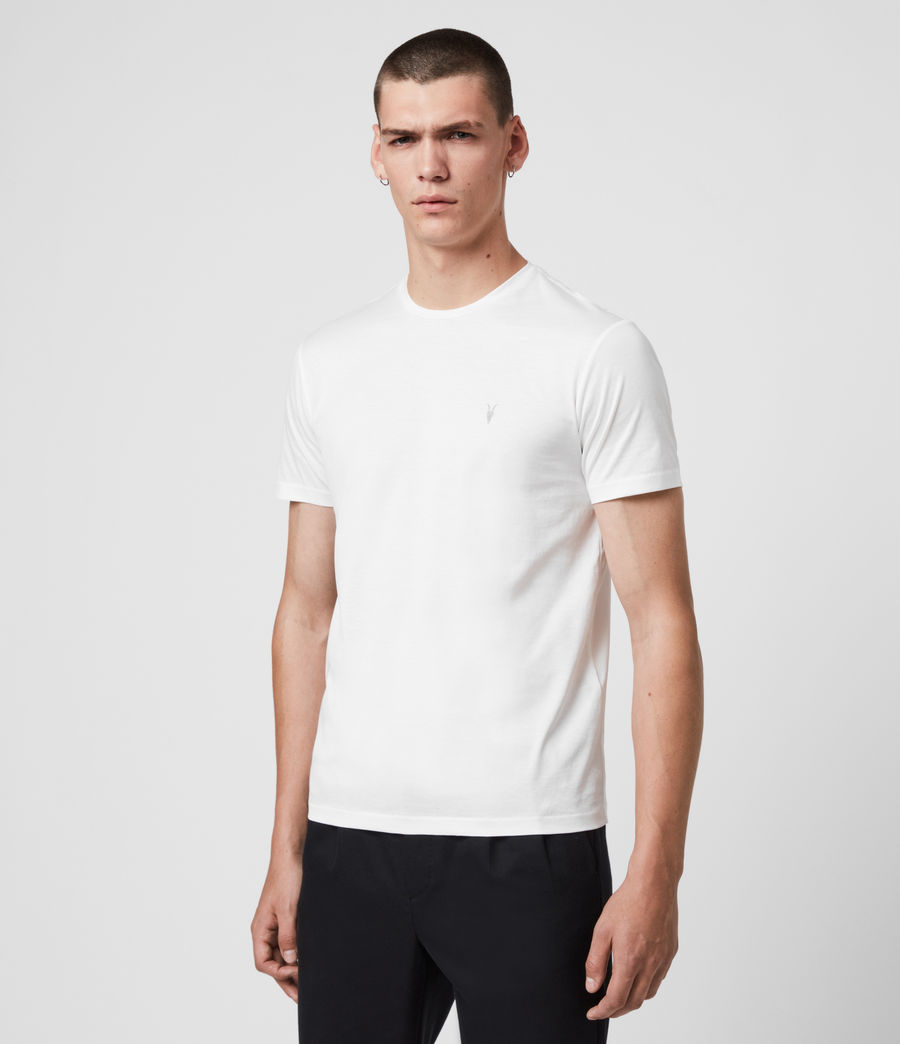 Hommes T-Shirt à Manches Courtes Tyrell (chalk_white) - Image 4