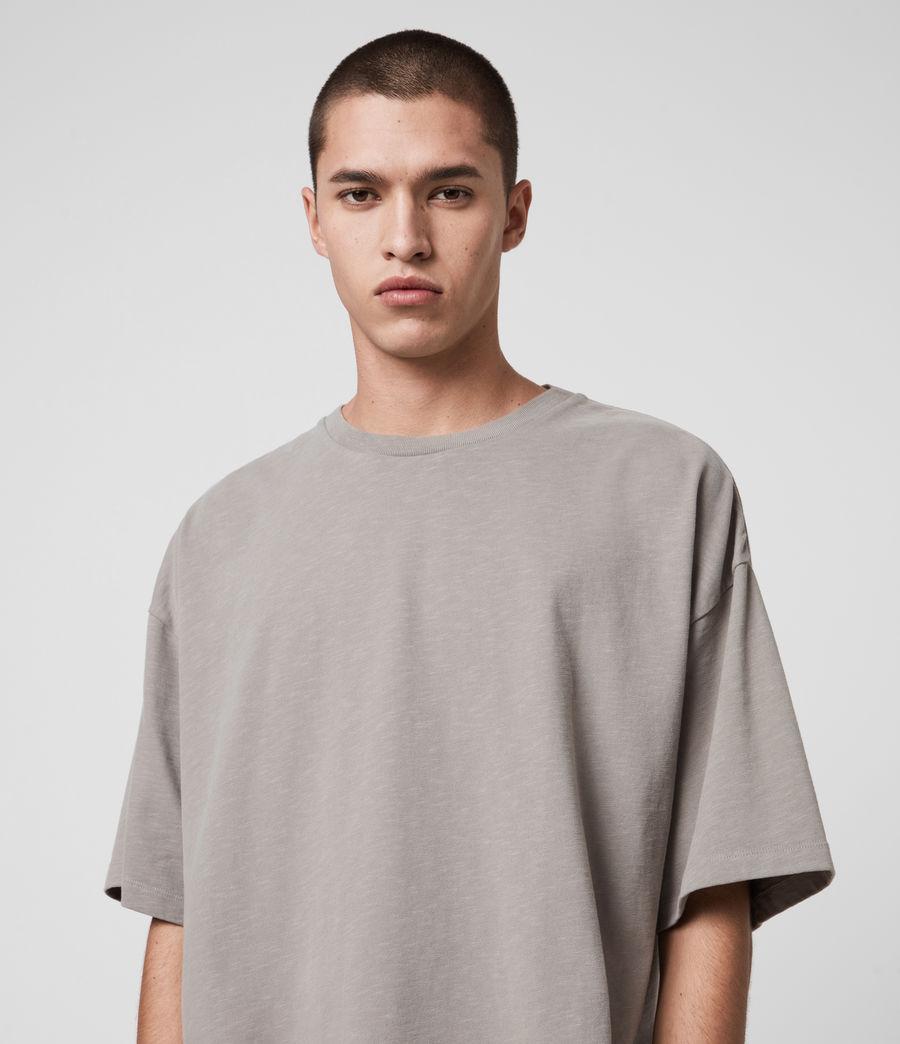 Mens Islanders Crew T-Shirt (chalk_white) - Image 3
