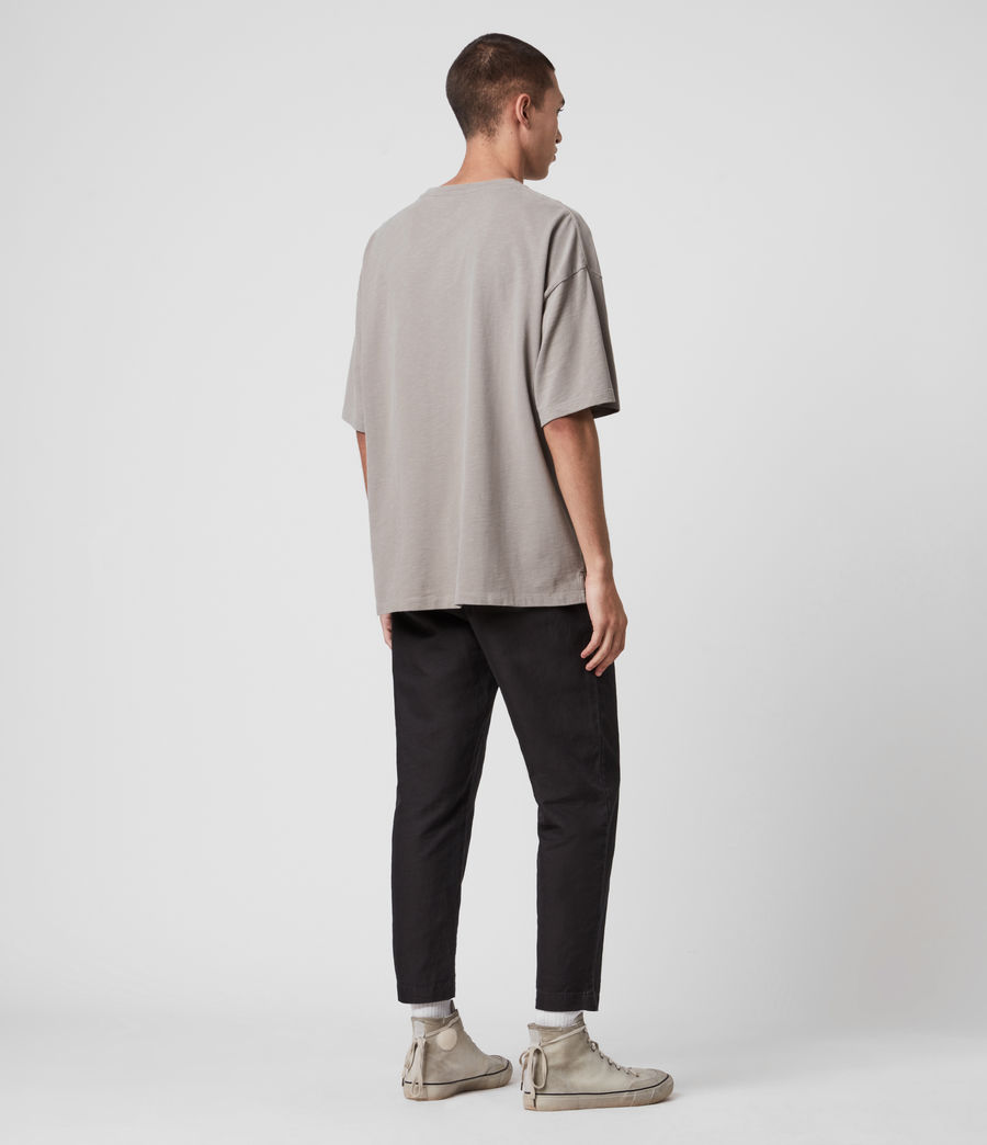 Hombre Islanders Crew T-Shirt (putty_grey) - Image 5