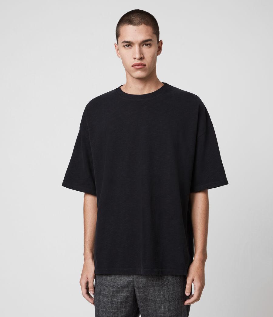 Men's Islanders Crew T-Shirt (jet_black) - Image 1