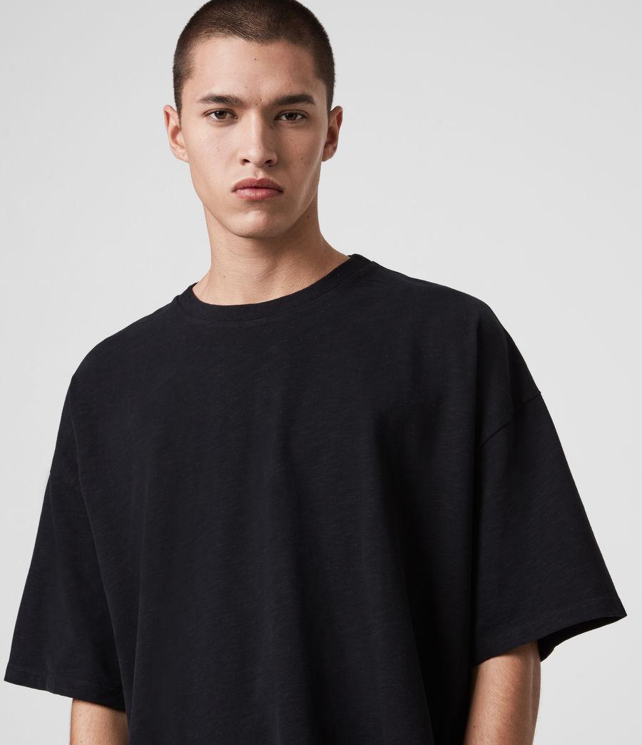 Mens Islanders Crew T-Shirt (jet_black) - Image 3