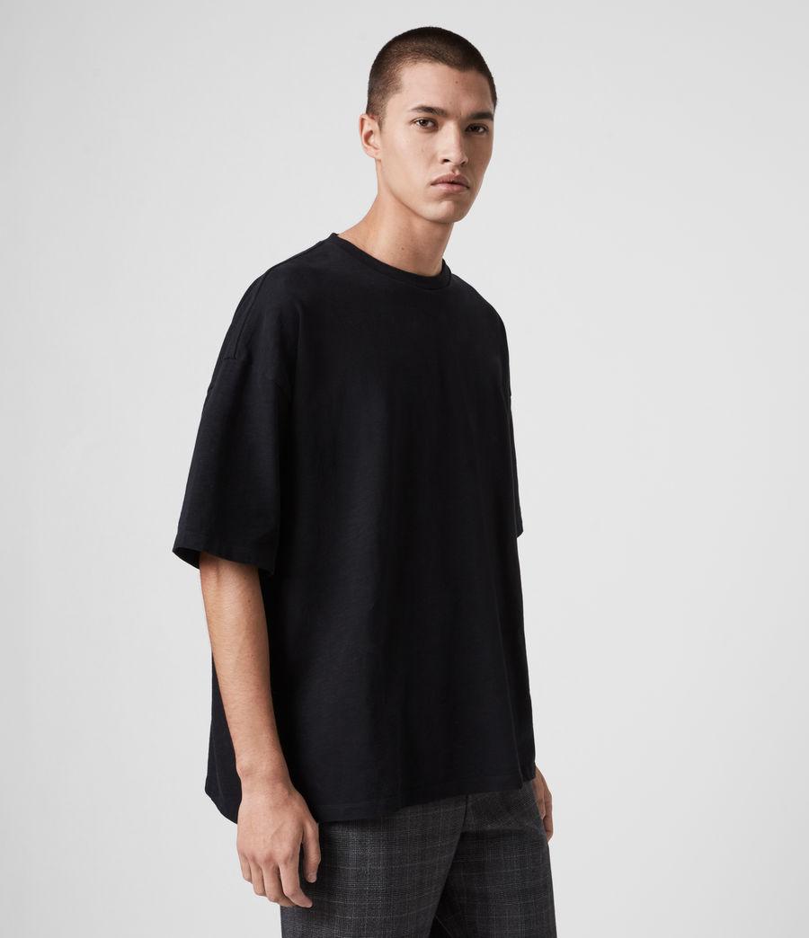 Men's Islanders Crew T-Shirt (jet_black) - Image 5