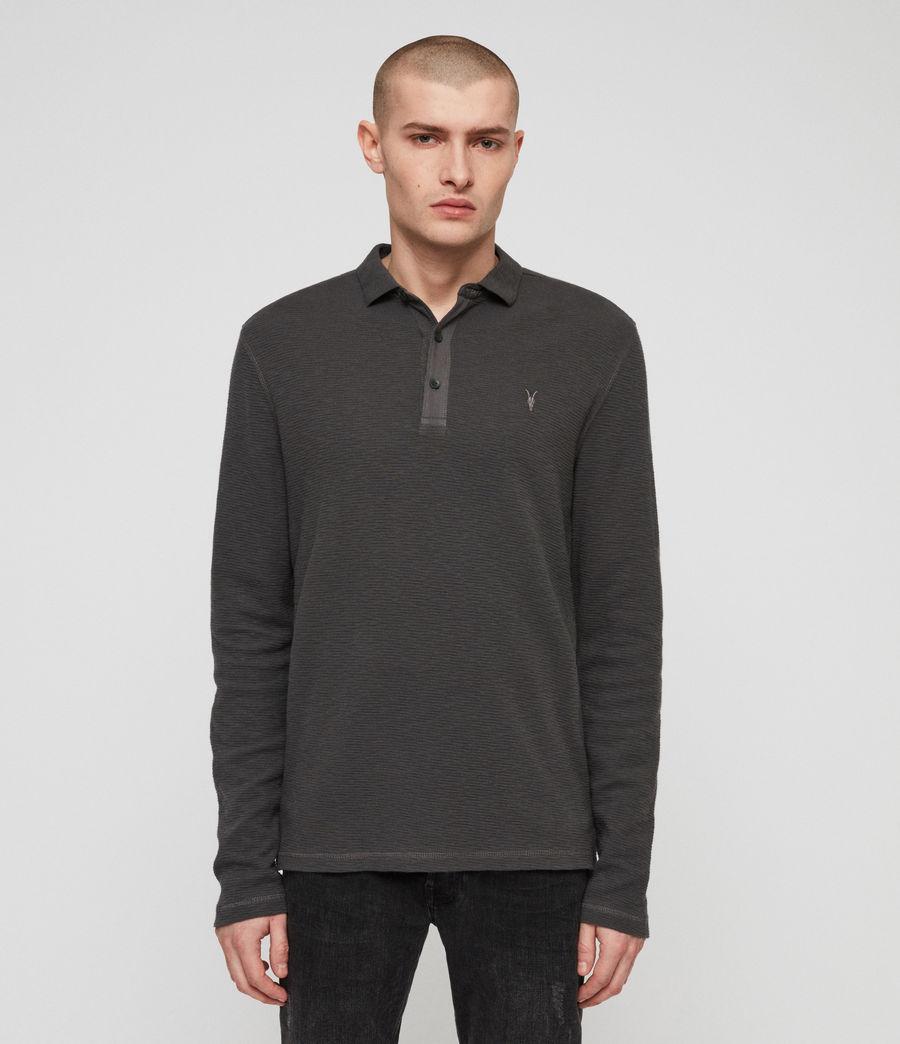 Men's Clash Polo Shirt (clover_grey) - Image 1