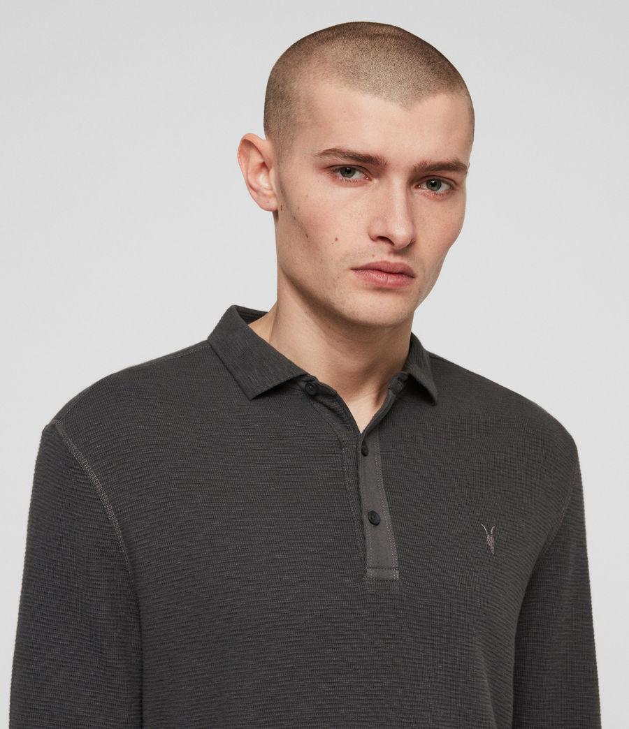 Men's Clash Polo Shirt (clover_grey) - Image 2
