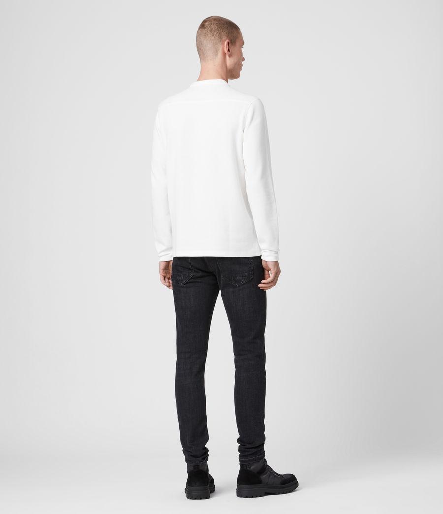 Mens Kiran Henley T-Shirt (white) - Image 5