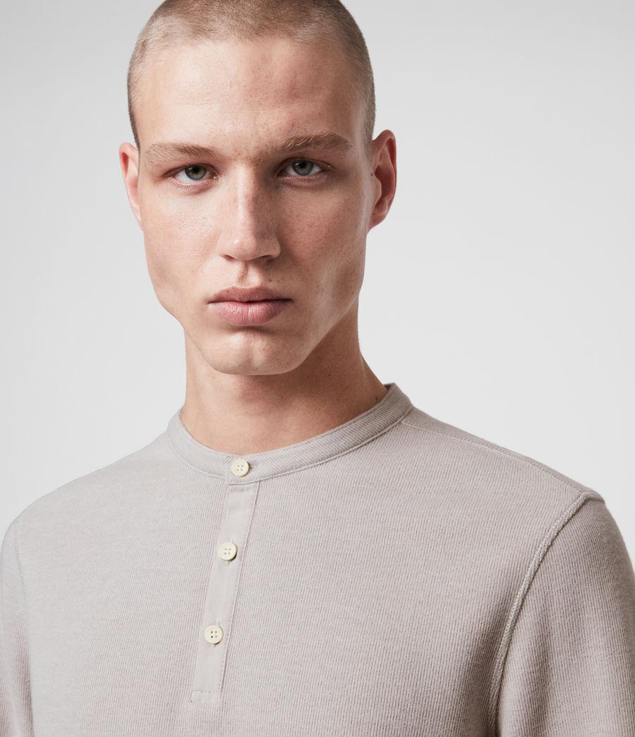 Herren Kiran Henley Long Sleeve (white) - Image 2