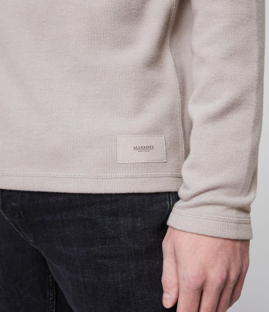 Herren Kiran Henley Long Sleeve (white) - Image 3