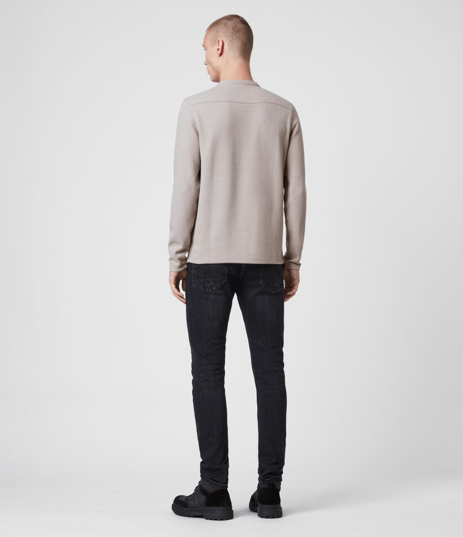 Men's Kiran Henley T-Shirt (taupe_marl) - Image 5