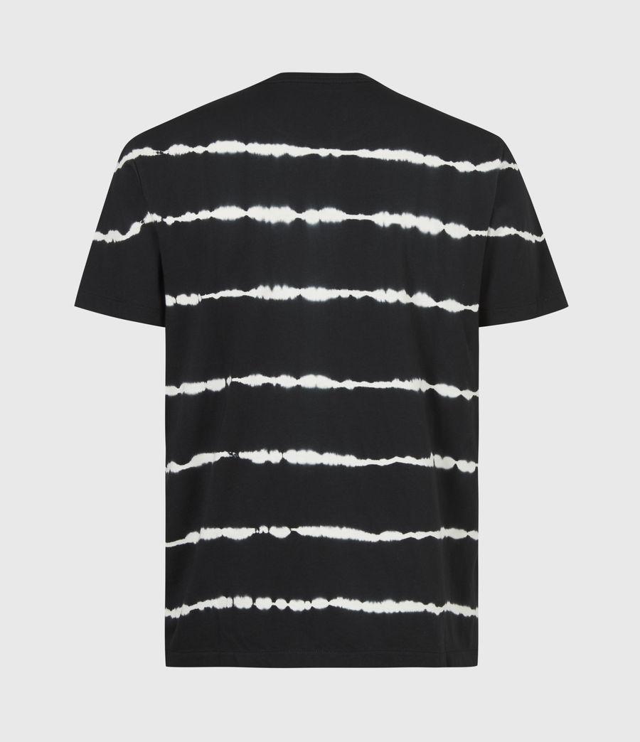Mens Vagos Crew T-Shirt (wshd_blk_chalk_wht) - Image 3