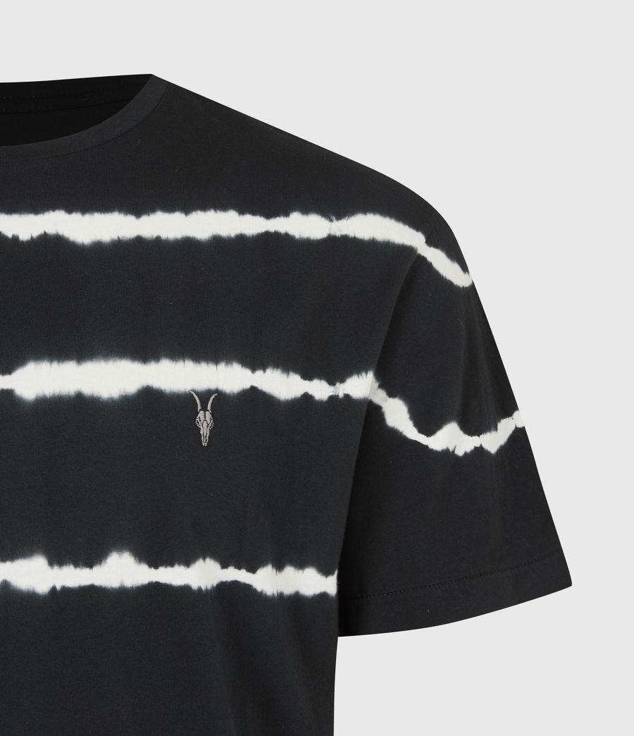 Mens Vagos Crew T-Shirt (wshd_blk_chalk_wht) - Image 5