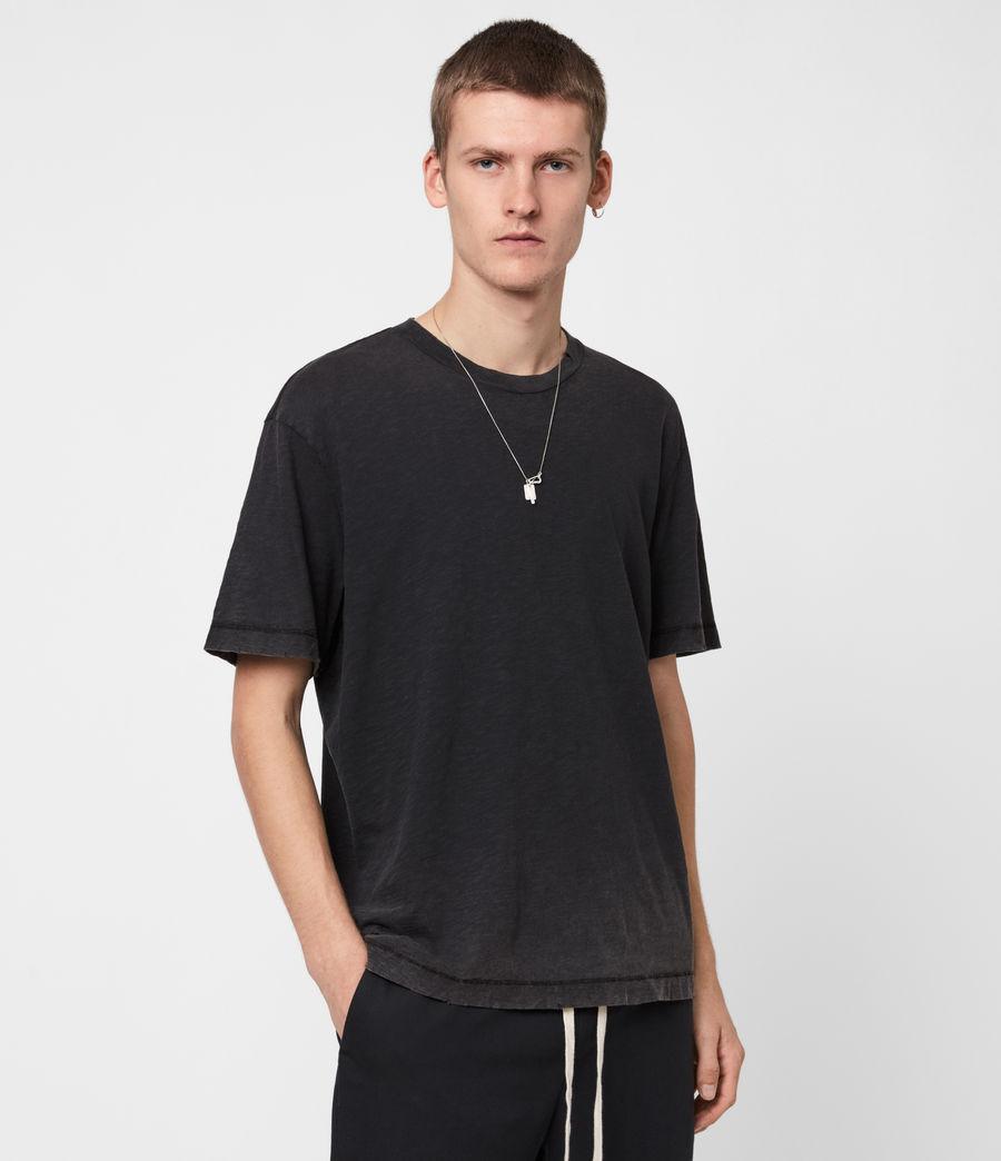 Mens Rinse Crew T-Shirt (black) - Image 1