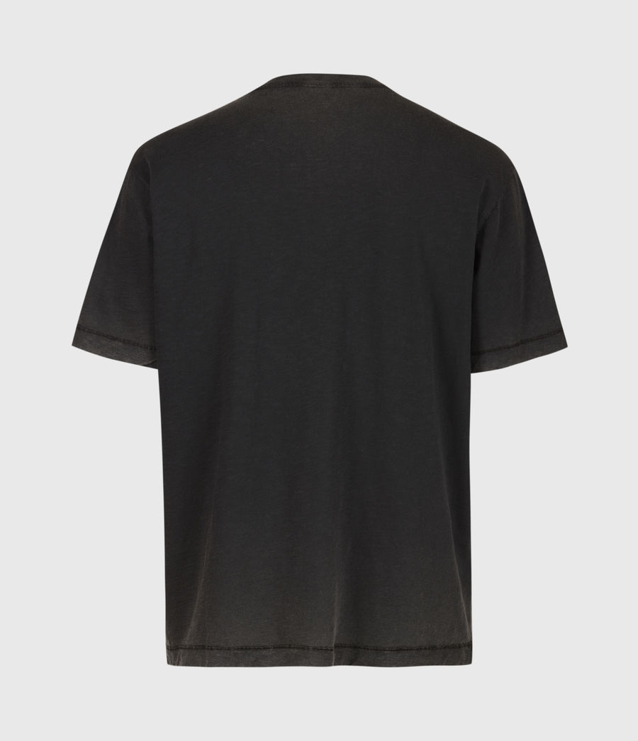 Mens Rinse Crew T-Shirt (black) - Image 3