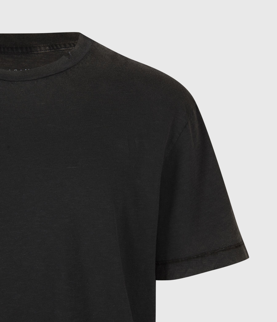 Mens Rinse Crew T-Shirt (black) - Image 5