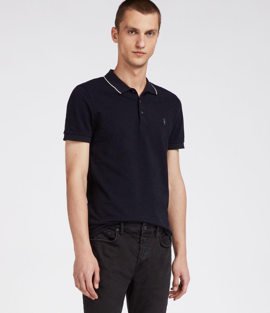 Hommes Polo Houston (ink_navy_chalk_wht) - Image 1