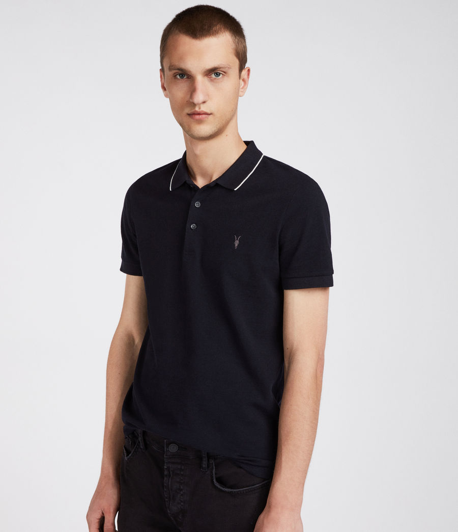 Hombres Polo Houston (ink_navy_chalk_wht) - Image 3