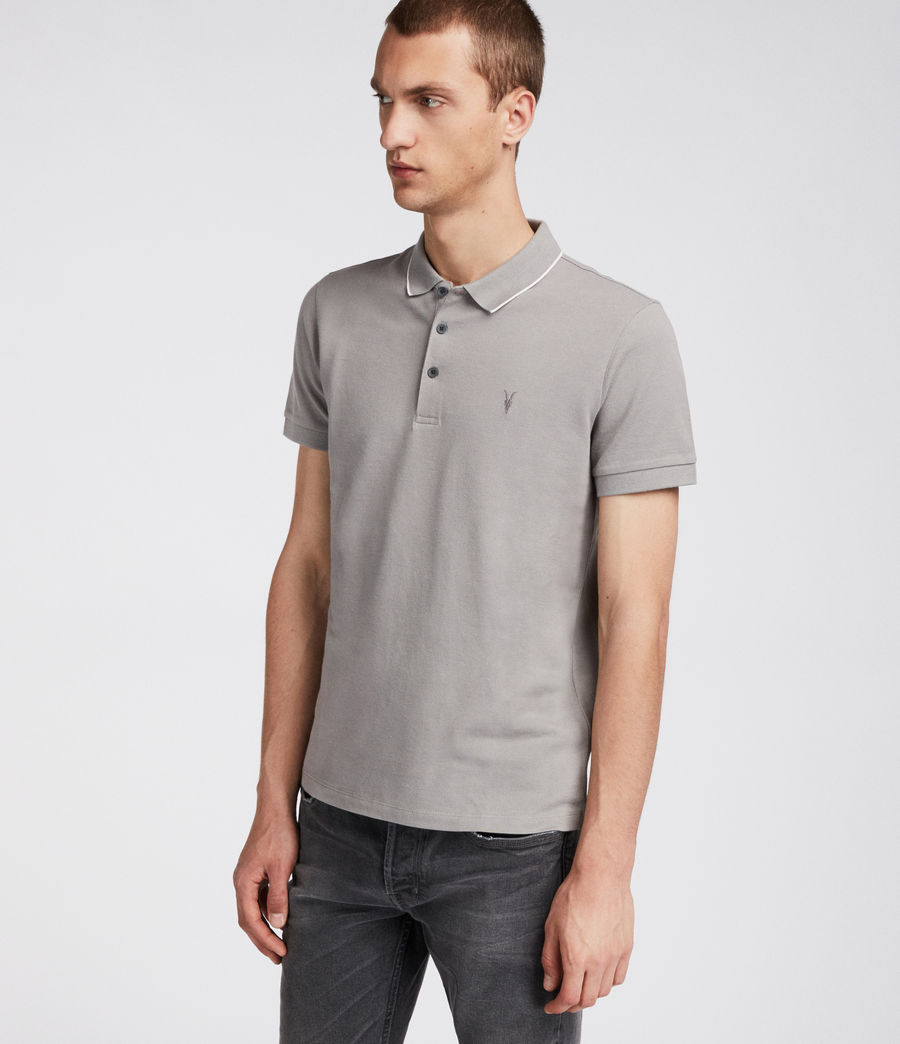 Uomo Polo Houston (putty_brown_chalk) - Image 1