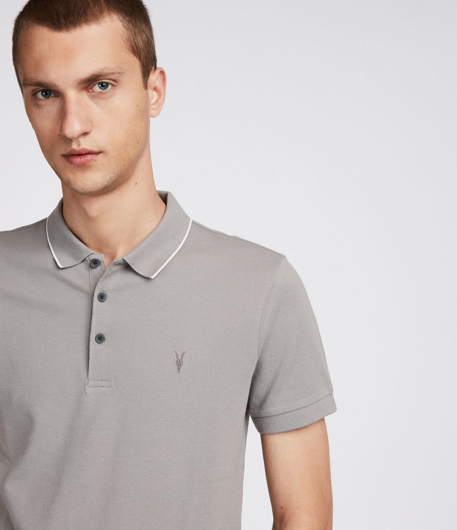 Uomo Polo Houston (putty_brown_chalk) - Image 2
