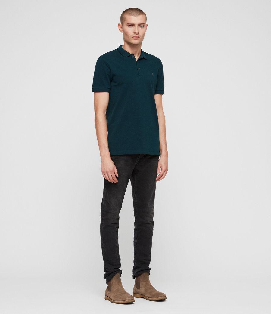 Men's Houston Polo Shirt (dawn_green) - Image 3